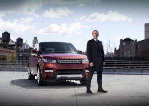 Bond star Daniel Craig launches new Range Rover Sport in New York