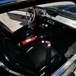 Interior of Eleanor the Ford Mustang from Gone in 60 Seconds