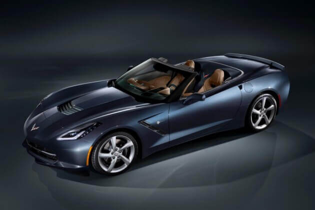 the 2014 corvette stingray convertible will have a starting price of $