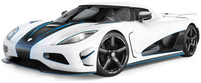 Koenigsegg agera r 2013 the fastest car in the world list