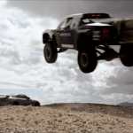 Monster Energy truck and bikini-clad models: Amazing video
