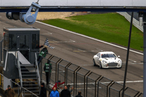 Hybrid Hydrogen Rapide S at Nordschleife circuit