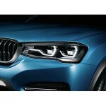 BMW Concept X4 headlight