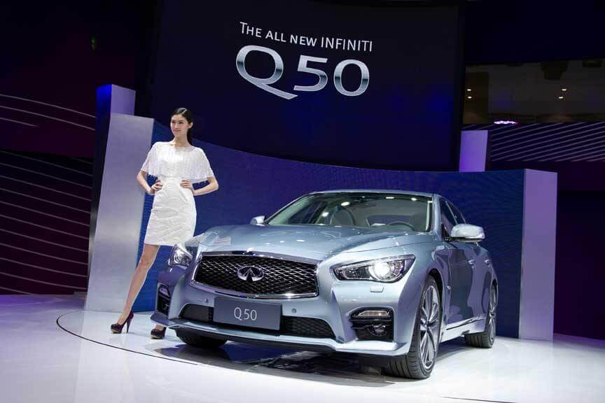 Infiniti Q Sedan Named Best Chinese Premiere At Shanghai Auto - Infiniti car show