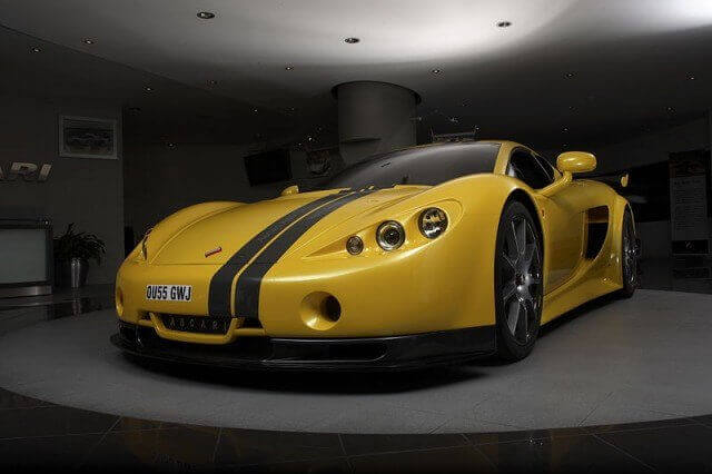 Ascari A10: Fastest car in the world list
