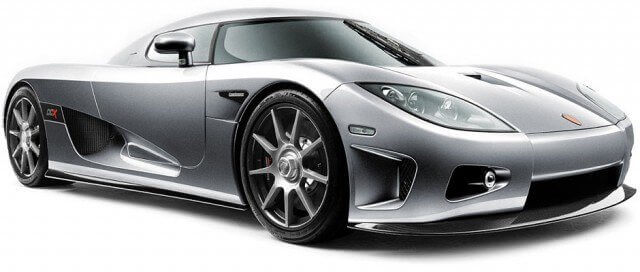 Koenigsegg CCX: Fastest car in the world list