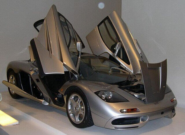 McLaren F1: Fastest car in the world list