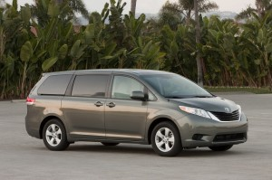 Toyota Sienna: Most reliable cars list