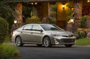 Toyota Avalon: Most reliable cars list