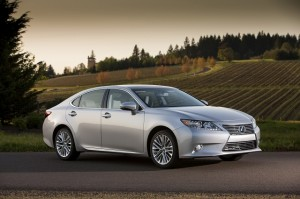 Lexus ES 350: Most reliable cars list