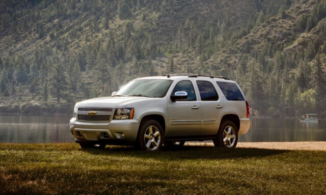 The Chevrolet Tahoe, one of the best full-size SUVs