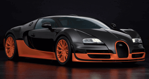 Most expensive Bugatti the Veyron Super Sport