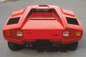 Lamborghini Countach rear end