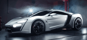 W Motors Lykan Hypersport: Most expensive car made in the Middle East