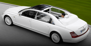 Maybach Landaulet: The most expensive Maybach car ever built