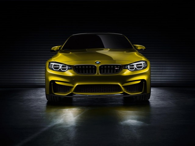 BMW M4 front end