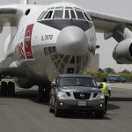 World's strongest car pulls 170 ton plane