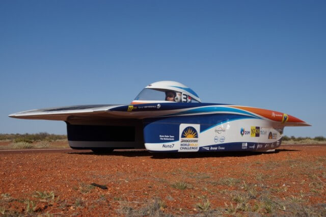 Nuono car World Solar Challenge