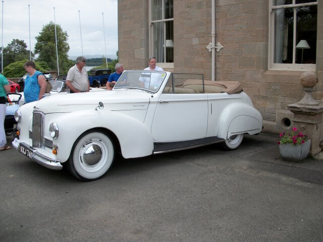 Humber Super Snipe Tickford Drop Head Coupe