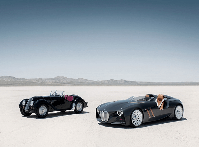 BMW 328 Hommage Concept cars