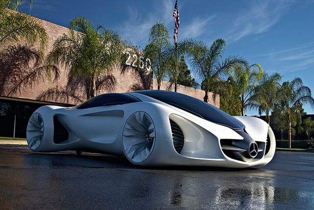 Top ten coolest concept cars for Mercedes benz biome
