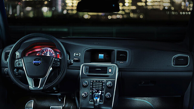 Volvo V60 and S60 Polestar interior