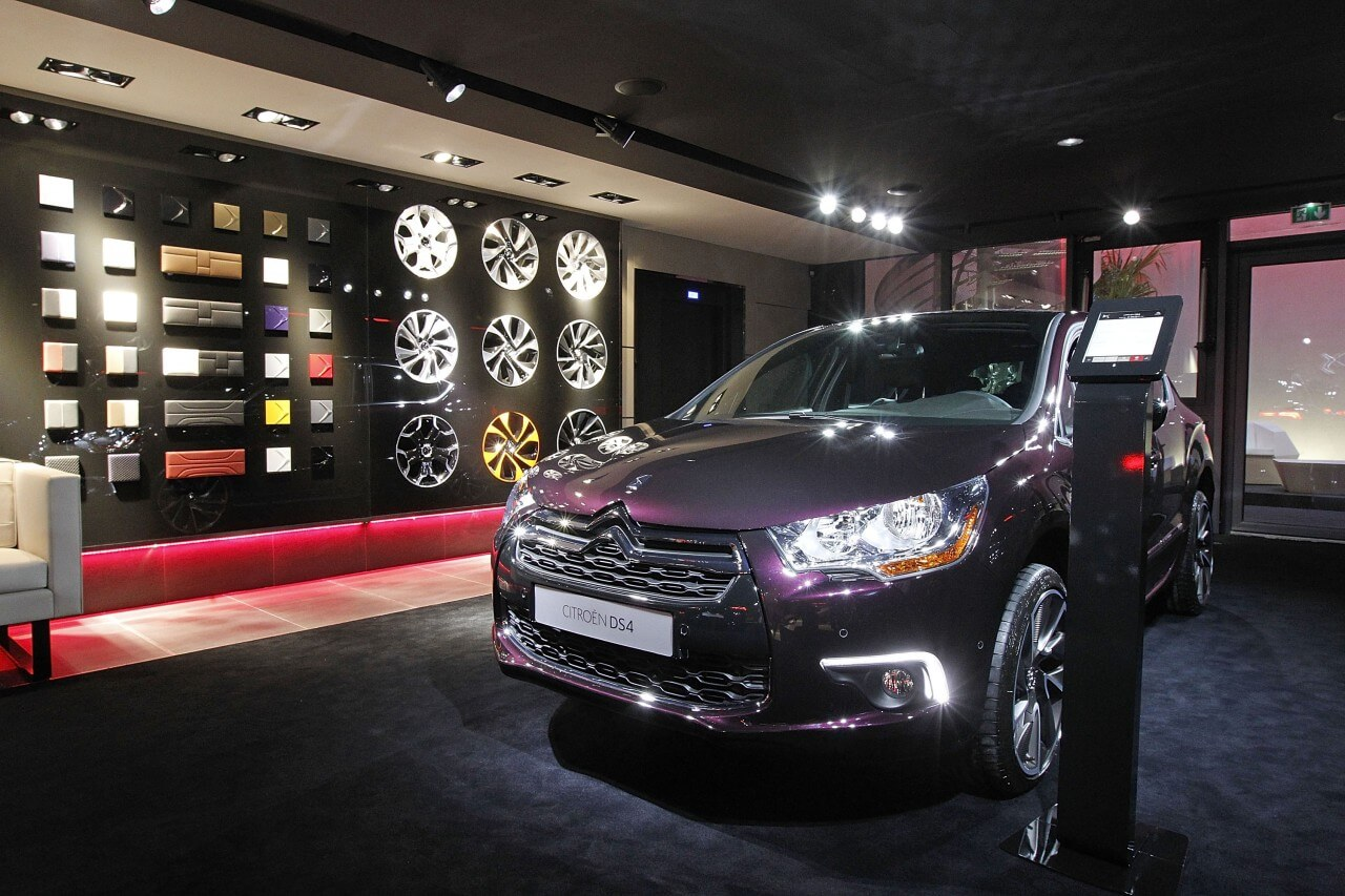 Citroen DS World Paris Opening