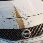 Washing a car can be a chore - and a costly one at that. In response, Nissan in Europe has begun tests on innovative paint technology that repels mud, rain and everyday dirt, meaning drivers may never have to clean their car again.