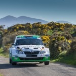 at the Circuit of Ireland Rally: The Germans Sepp Wiegand and Frank Christian rounded off their chase with second place.