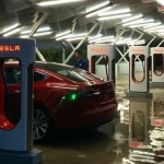 Tesla Opens First Charging Station in China