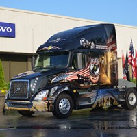 Volvo Unveils Truck Honoring Military Heroes