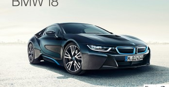 BMW i8 advert