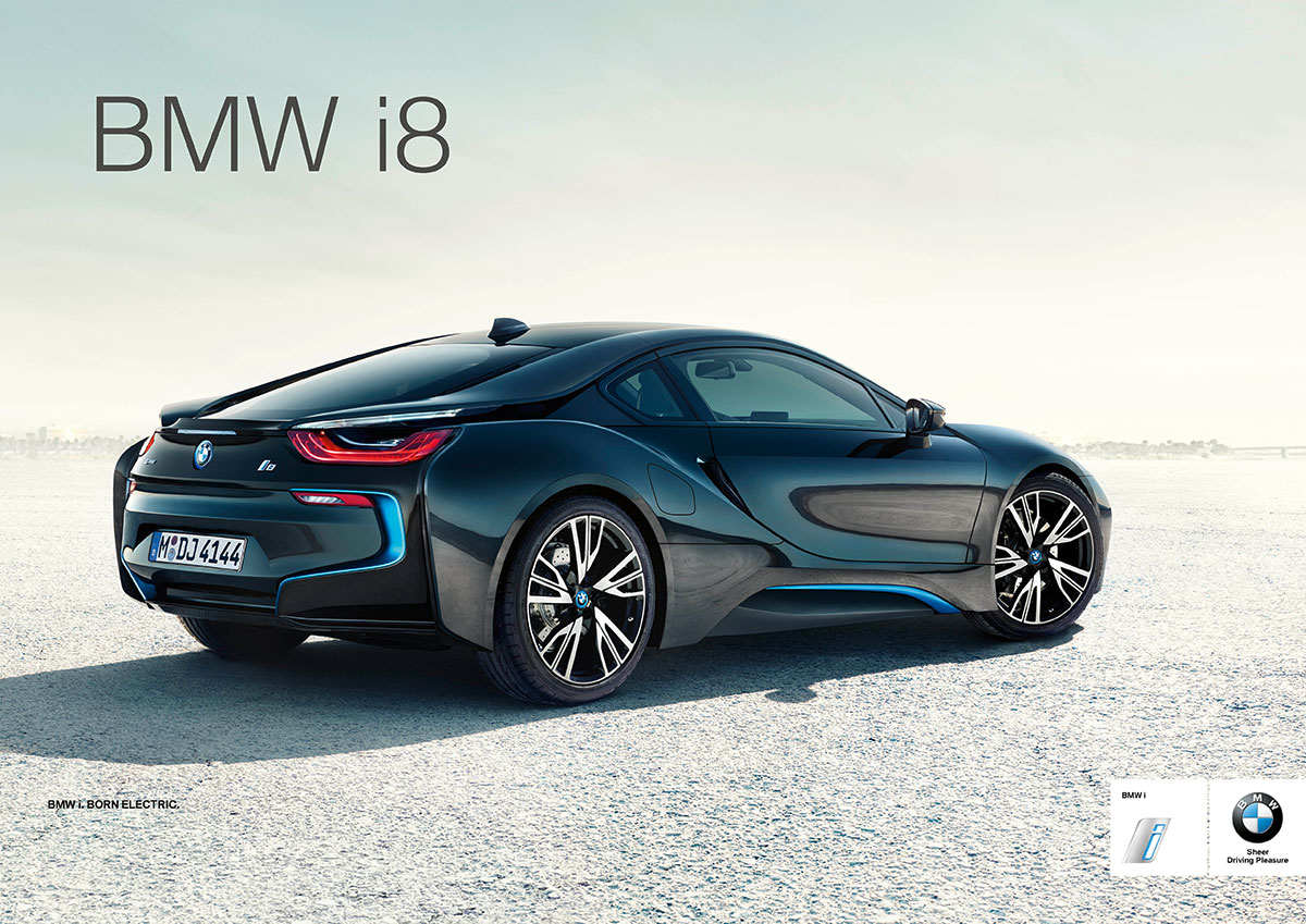 Bmw I8 Ads Launched Created By Good Will Hunting Director