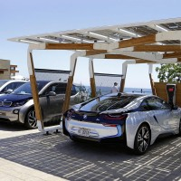 Power Your BMW Using A Solar-Powered Garage