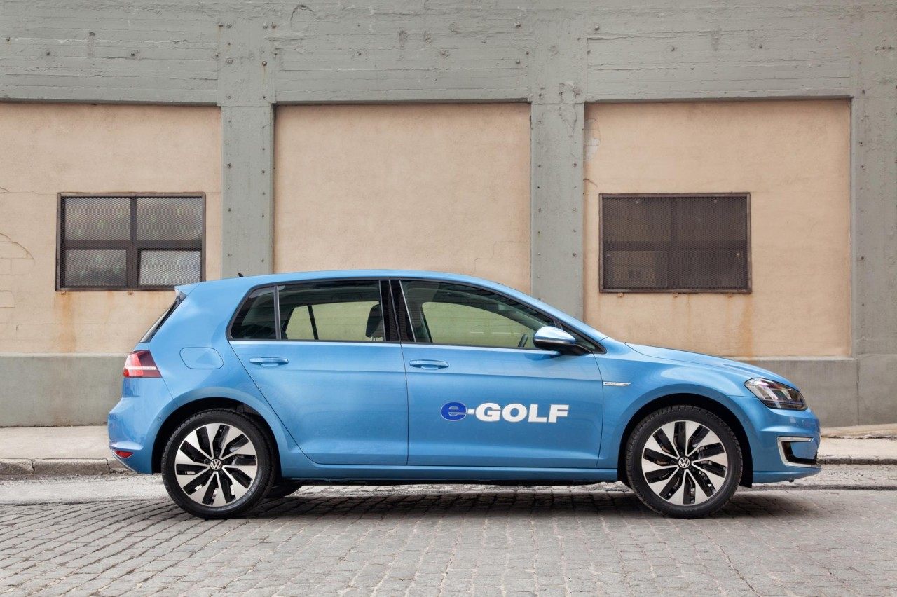 Volkswagen e golf firm 39 s first electric car in the us for Egolf motors used cars