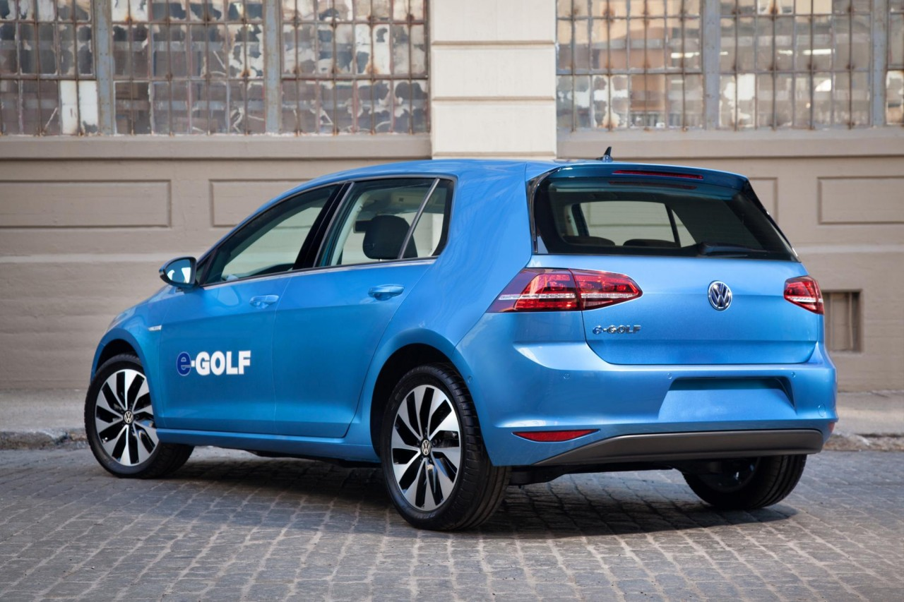 volkswagen e golf firm 39 s first electric car in the us. Black Bedroom Furniture Sets. Home Design Ideas