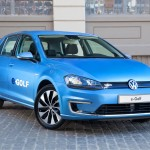Volkswagen eGolf electric car
