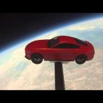 Ford Mustang makes it to space