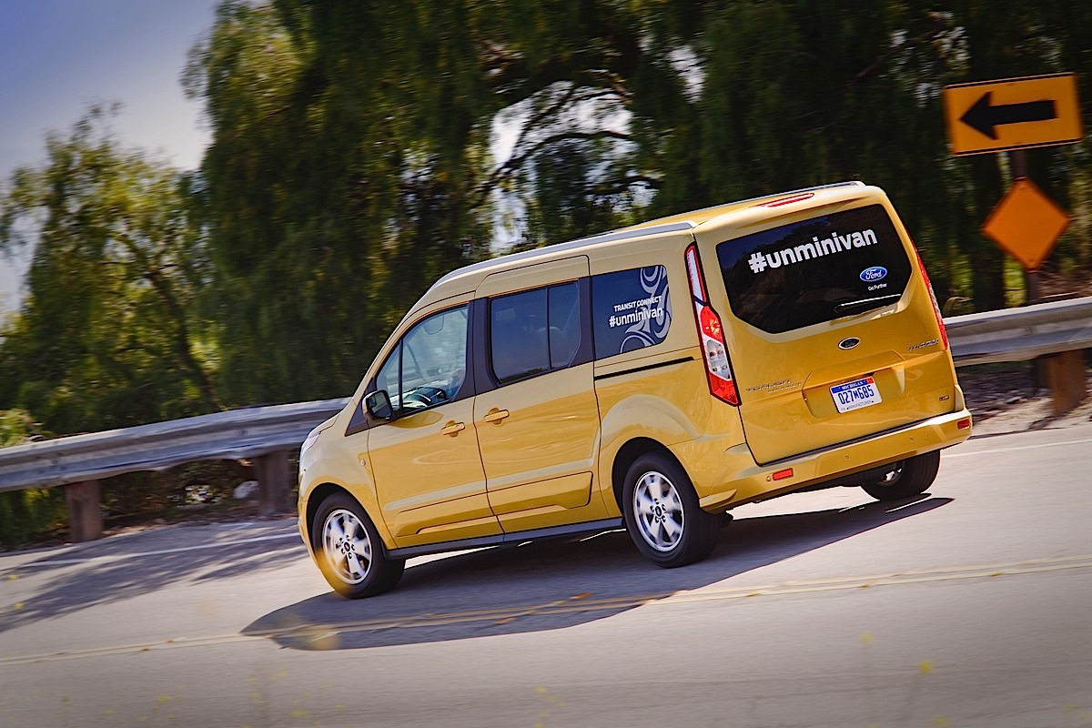 Ford Transit Connect Wagon: The Unminivan