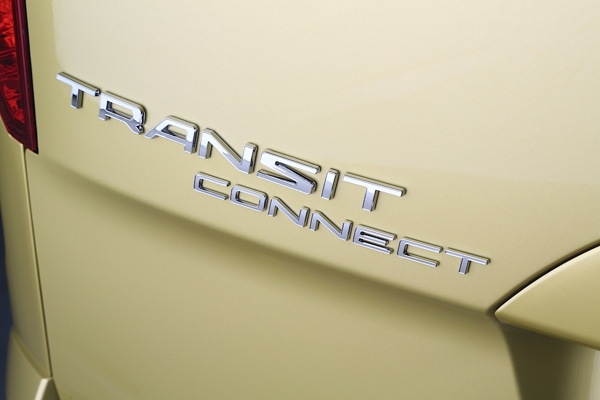 Ford Transit Connect Wagon, detail.