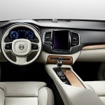 The new Volvo XC-90 interior.
