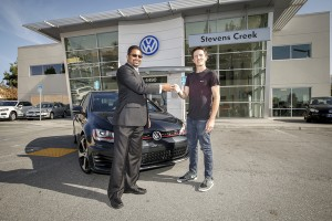 Volkswagon's first customer for the new 2015 GTI.