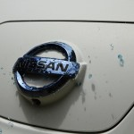 Nissan LEAF self-cleaning car