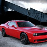 The 2015 Dodge Challenger SRT Supercharged with HEMI Hellcat engine