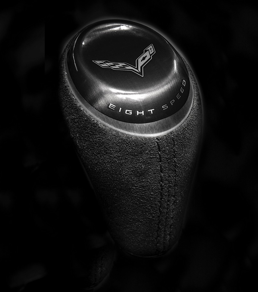 The 2015 Corvette Z06 features an all-new eight-speed automatic, designed and built by GM, that is more than 8 pounds (4 kg) lighter and five-percent more fuel efficient than the six-speed automatic.