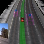 Google's self-driving cars use a variety of sensors and maps to navigate.