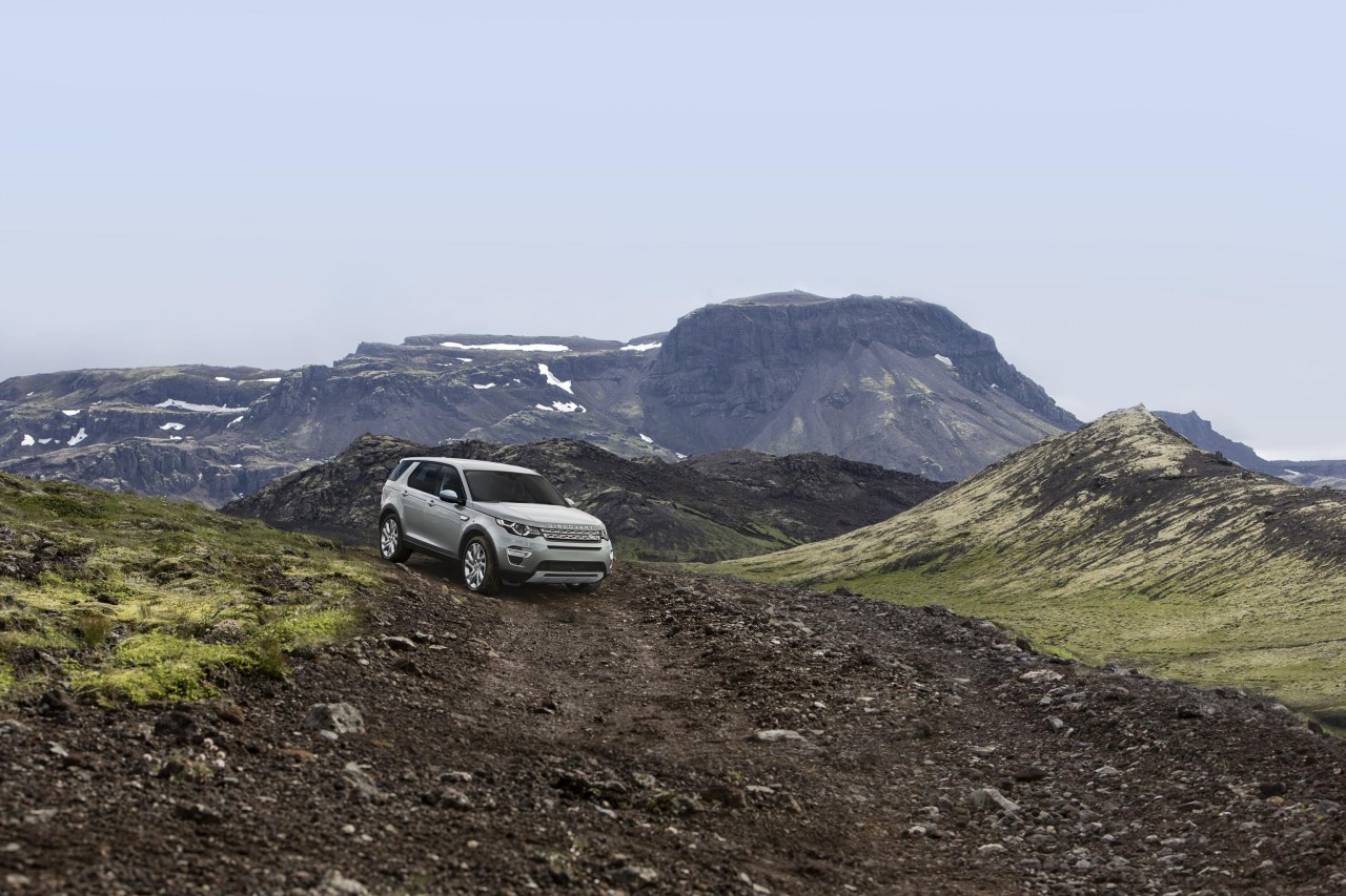 The Land Rover Discovery Sport still has off-road credentials.