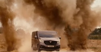 Knight Rider Back as a Renault Van