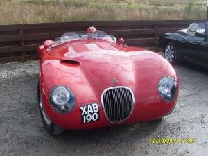 Jaguar C Type Replica