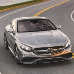 3/4 view of the Mercedes-Benz S63 AMG 4MATIC Coupe picture